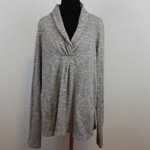 Lilka Anthropologie gray sweatshirt size Large